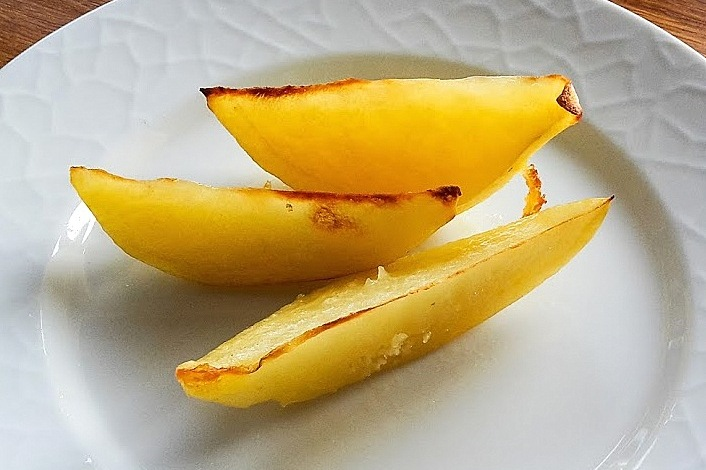 ångkokta grönsaker i ugn
